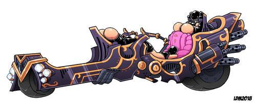 :Legendary Slave Motorcycle - Cerberus: by Lorddragonmaster