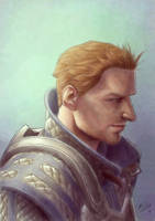 Warden Alistair by Atarial