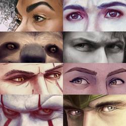 eyes by Atarial