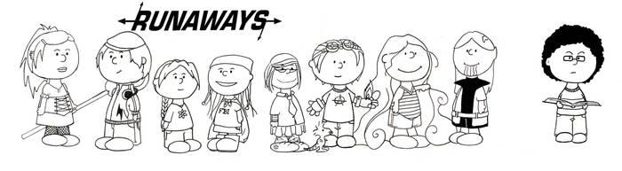 Runaways- Peanuts by uncannyphantom