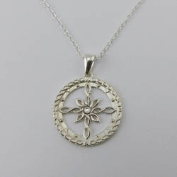 Celtic Compass Necklace by dfoley75