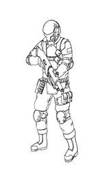 Spec Ops Soldier by PhantasmaStriker