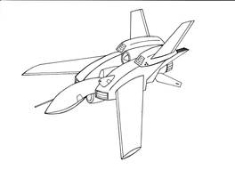 UAV Drone Fighter 'Vesper' by PhantasmaStriker