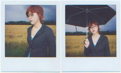Summer Rain - Polaroids by Helium-Raven
