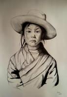 Little Girl from Tibet by LukaCakic