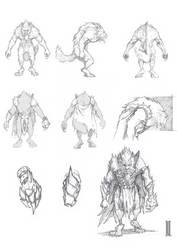 Werewolf by LukaCakic