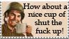 STFU Stamp by urnightmare
