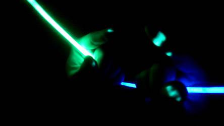 Broken Glowstick by NevaStorm