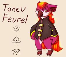 Char:: Tonev Feurel by Pizaru-Chu