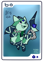 [Legacy] 6 of Spades ~ Pearly Well [Closed] by Pizaru-Chu