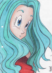 Just Bulma... by dbzsisters