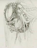 Predator - horned by CoolleKotten