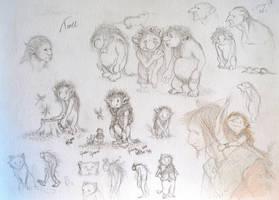 Troll study by CoolleKotten