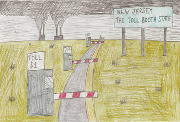 Toll Booths in New Jersey by Casey387
