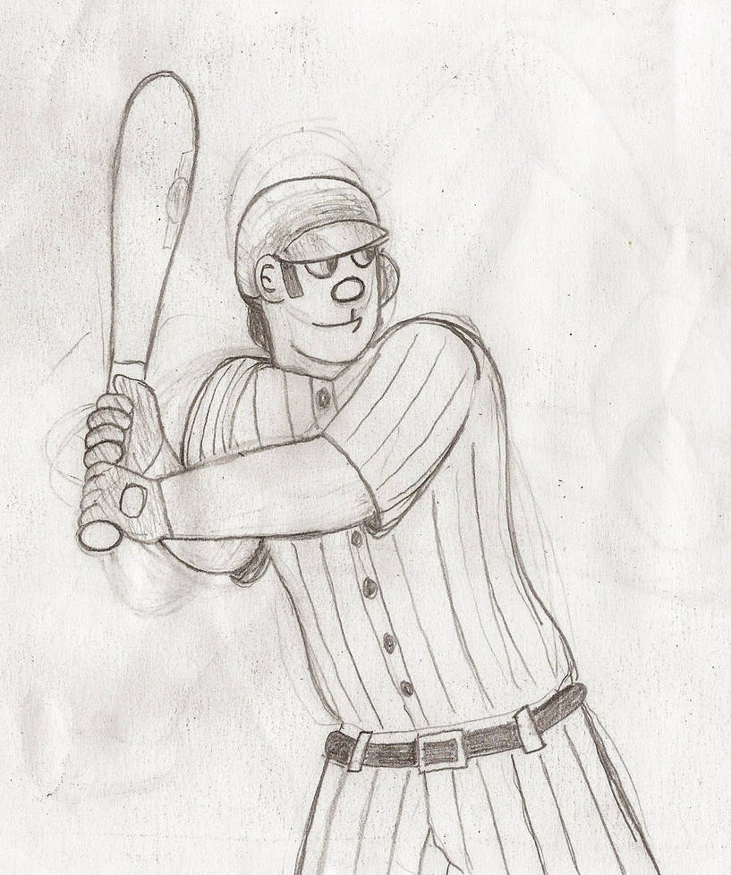 Batter Ready to Swing by Casey387
