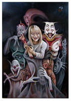 halloween oil by imagist