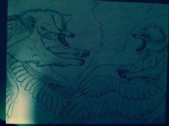 BLUE DISTRESS by AcaliX