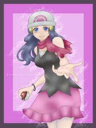 Dawn (pokemon fan art) by EnnaidEvadla