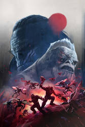 Halo Wars 2 / Rise of Atriox 03 by Aleksi--Briclot