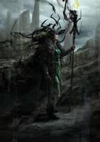 Hela / Thor : Ragnarok by Aleksi--Briclot
