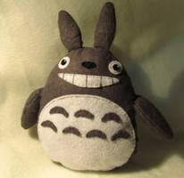 Totoro plush by PrincessNami