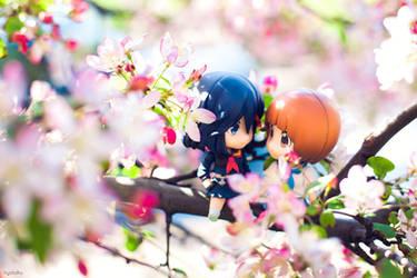Mako and Ryuko Spring by frasbob