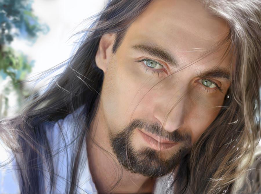 Chris- 3D portrait by AddyRedragon