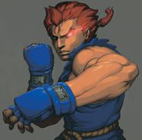 street fighter gouki by oetaro
