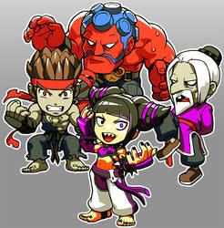 Street Fighter Juri EvilRyu Hakan Gen by oetaro