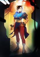 Street Fighter Chun-LI by oetaro