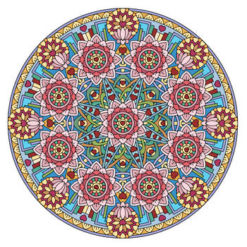 Equanimity Mandala (Colored) by candy-hippie