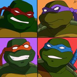 Teenage Mutant Ninja Turtles (2003 Series) by The-White-Tigress
