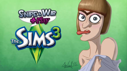 Snipe and Wib Play: The Sims 3 Title Card by SnipeTheSorrow