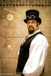 Steampunk Portrait by RobbyIdolMedia