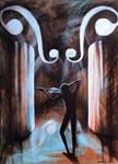 Inside the violin by Ralu77
