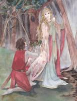 La Belle Dame Sans Merci by Niceto