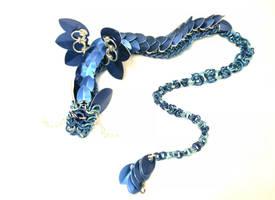 Blue Winged Dragon by SilverHauntArmoury