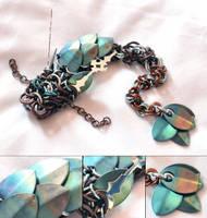 Niobium-Scaled Forest Dragon by SilverHauntArmoury