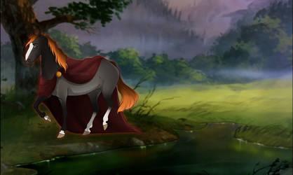 Sunaru - the earth's Goddess by La-Siiu