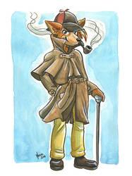 Sherlock Hound by ManueC