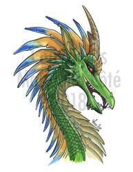 Saya-Mel dragon by ManueC