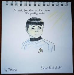 Spock Fact 31 by Tarisha