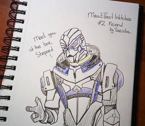 Mass Effect Inktober 2 by Tarisha