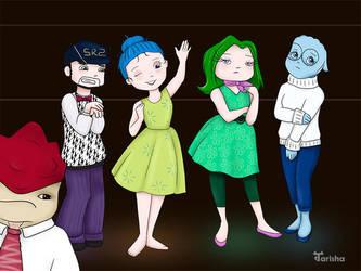 Mass Effect Costume Party by Tarisha