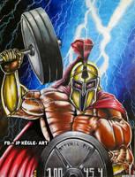 The gym Spartan by JPKegle