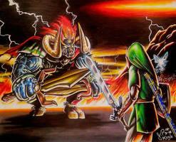 Zelda : Ocarina of Time by JPKegle