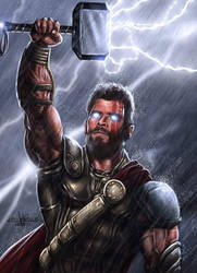 Thor Ragnarok by JPKegle