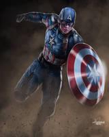 Captain America by JPKegle
