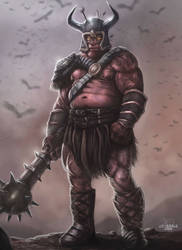Thorg the Ogre by JPKegle