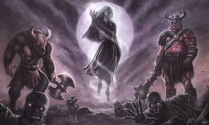 Army of the underworld by JPKegle